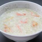 蟹肉とフカヒレ入りスープ