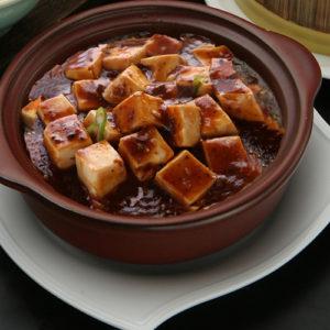 豆腐料理人気NO1の麻婆豆腐