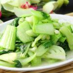 青梗菜の炒め